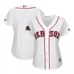 Women's Majestic Red Sox 2018 World Series Jersey